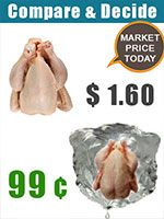 OVLG Tip Of The Week: This Thanksgiving, Go for Frozen Turkey & Save up to 40%