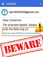 OVLG Tip Of The Week: Ignore Bogus Shipping Alerts to Avoid Holiday Scams
