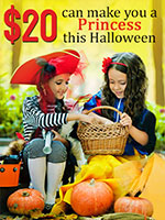 OVLG Tip Of The Week: Be A Princess This Halloween at Only $20