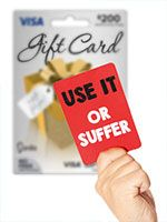 OVLG Tip Of The Week: Use Gift Card Within A Year To Avoid Dormancy Fees