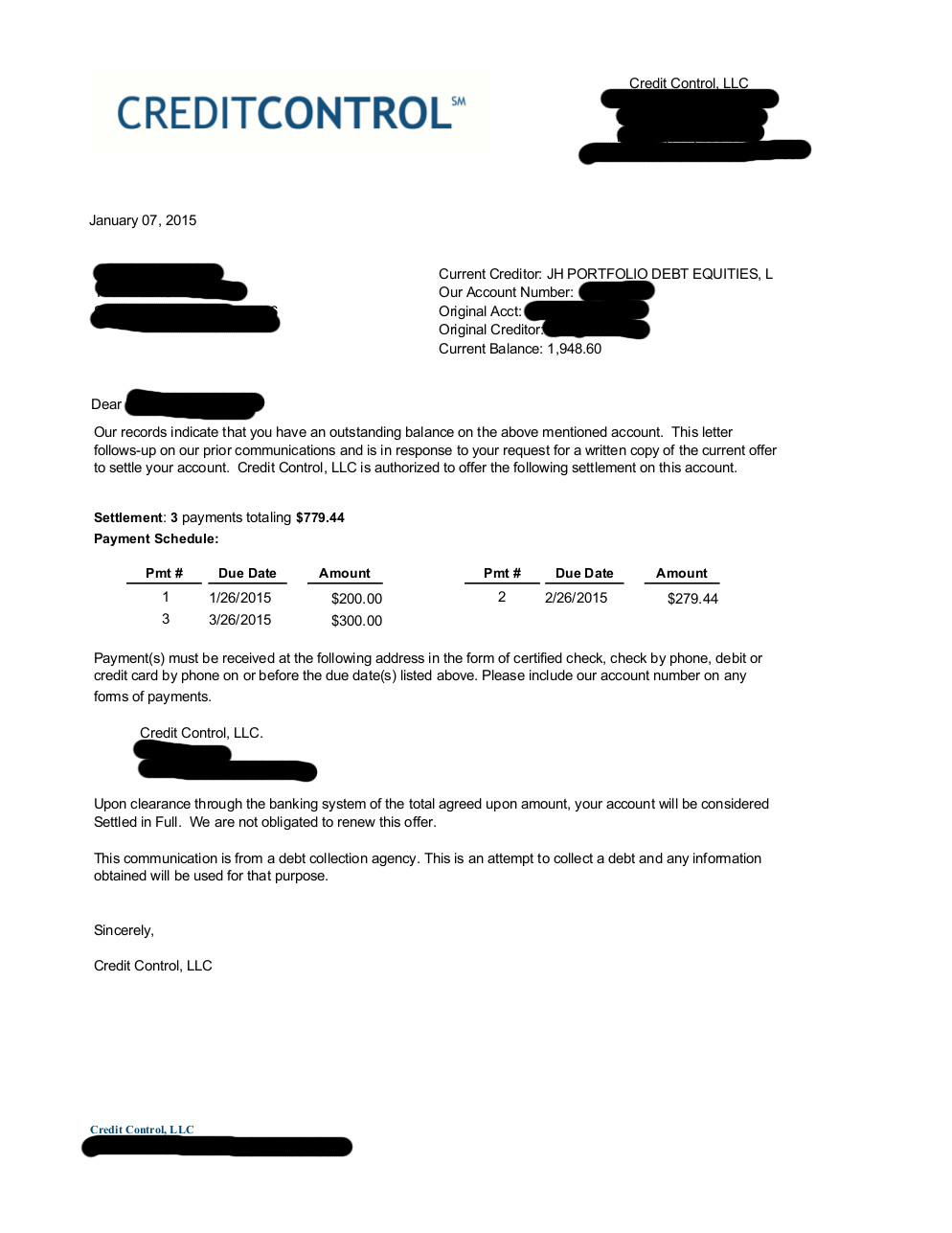 Saved $876.87 with Sears Store Card for Client BM
