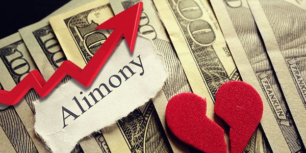 2018 Tax Laws and Alimony - Higher Divorce Rates