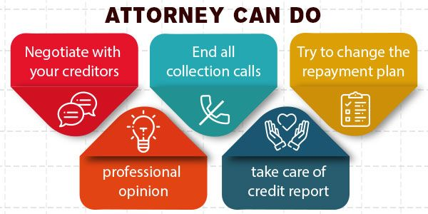 Debt settlement attorneys: What they do and how can they help you?