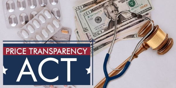 How does the Price Transparency Act help people save money?