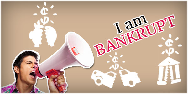 Declaring bankruptcy: 3 Advantages and disadvantages