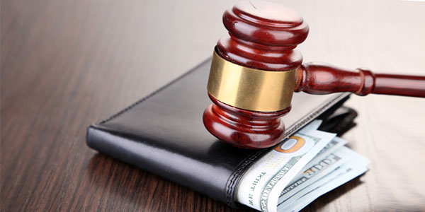 What does the United States laws specify about wage garnishment?