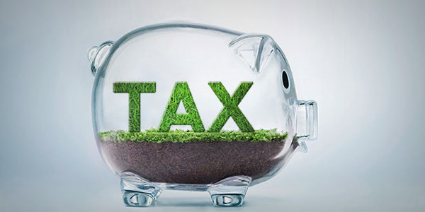 save money on tax by going green