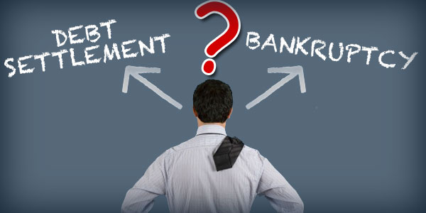 Debt settlement or bankruptcy - Which one is better for your credit?