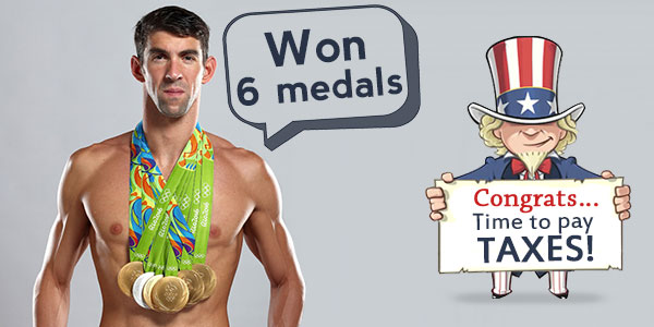 Olympic gold medal - Too costly for US athletes due to victory tax?