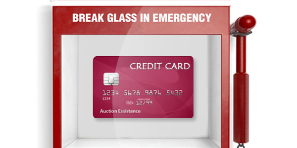 Can an emergency credit card bail you out when you're in big trouble?