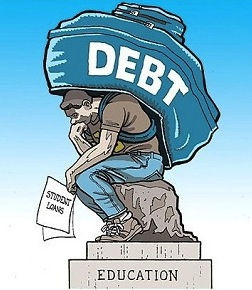 How Student Loan programs turn to waste and raises debt?