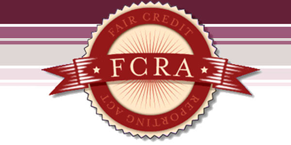 FCRA fix credit issues