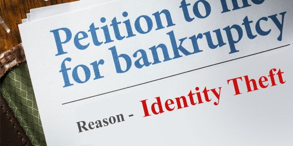 Does it make sense to file bankruptcy due to identity theft?