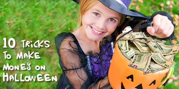 Halloween: 10 Tricks to make money instead of spending it