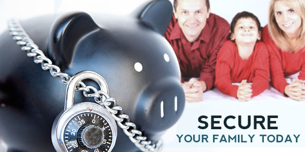 How can you build financial security for your family?