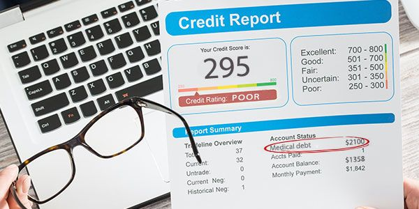 Medical debt accounts on credit reports: What you need to do!