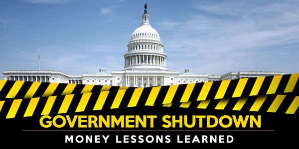 The government shutdown: Time to learn these 5 money lessons