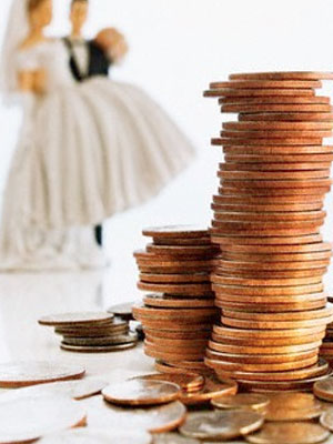 Avoid the wedding splurge