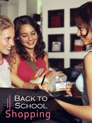 Discount On Back To School Shopping