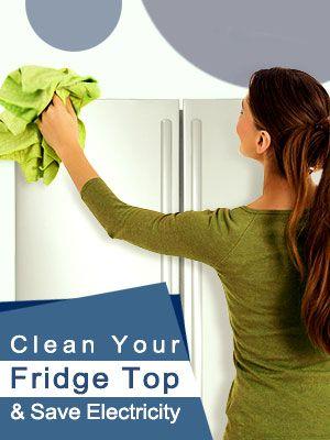 Clean Your Fridge Top