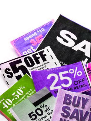 Clip your coupons