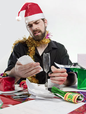 Don't be left with christmas debt hangover