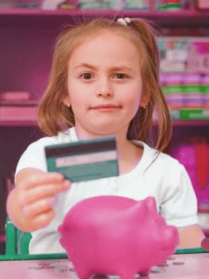 It isn't mandatory to file a criminal report when your kid uses your card stealthily