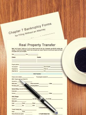 Never transfer your property before filing bankruptcy