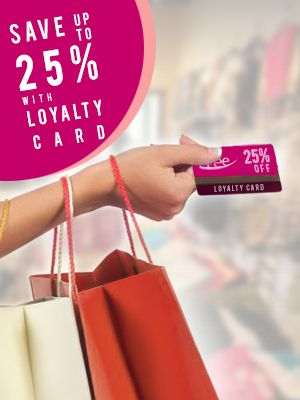 Save money by using loyalty card