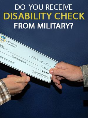 Think Before Receiving The Disability Check From The Military