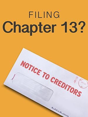 21 Days Notice to Creditors to Get an Unobjectionable Chapter 13