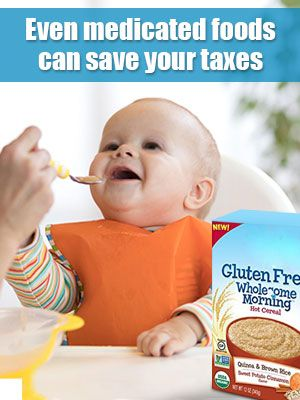 Get Tax Relief on the Medicated Foods