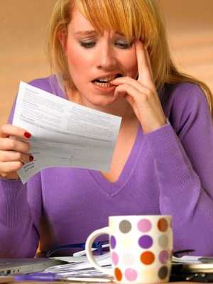Take care of your credit history or else pay extra on your monthly bill.