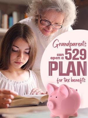 Grandparents Can Take Advantage Of The 529 Plan