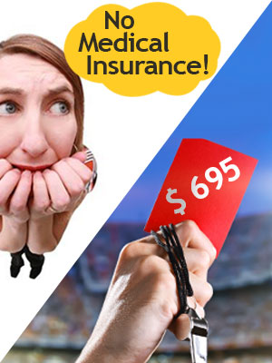 Buy a health insurance policy or face a penalty of $695