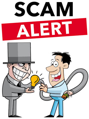 save yourself from utility scam