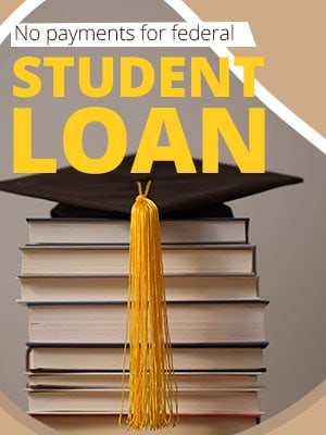 The federal student loan payment freeze extension