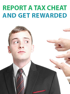 Submit form 211 to get a cash reward from the IRS