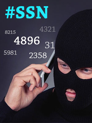 Spot a debt collector by asking the last 4 digits of your SSN