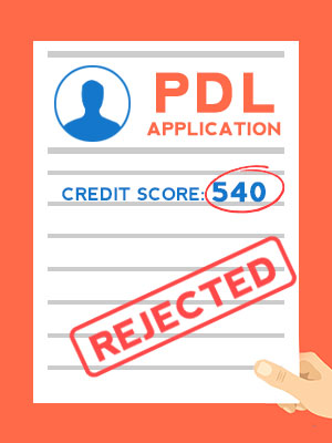 Boost your credit score if you want to take out a pdl from a lender