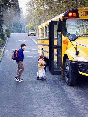 keep 25 feet away from school bus