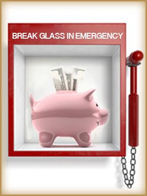 Put up an emergency fund