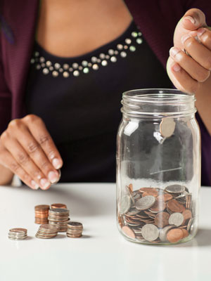Rein in your finances by saving from the beginning.