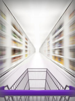 Rush up your grocery shopping
