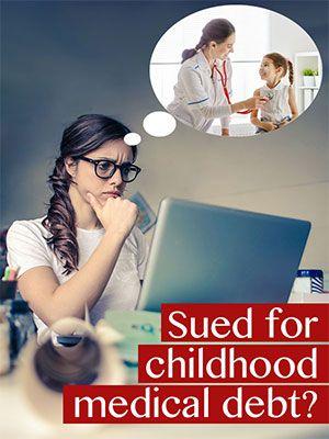 Childhood Medical Debt