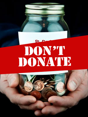 Stop! Don't donate during Christmas in a hurry. Check legitimacy first to avoid chilling charities.