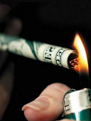 Stop smoking to save money.