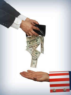 Wage garnishment is based upon your disposable income. So, calculate it fast.