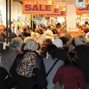 Wait! Don't give 15-minute sale offer to shoppers. Follow safety tips to avoid premises liability lawsuits.