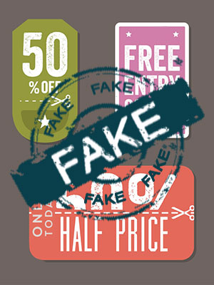 Fake coupons will bring double trouble in the festive season. So, don't be too greedy!
